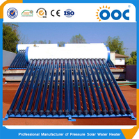 Household Pressurized Solar Hot Water Heater