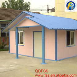 Fast Installation House Prefab Indonesia Prefabricated House in Haiti