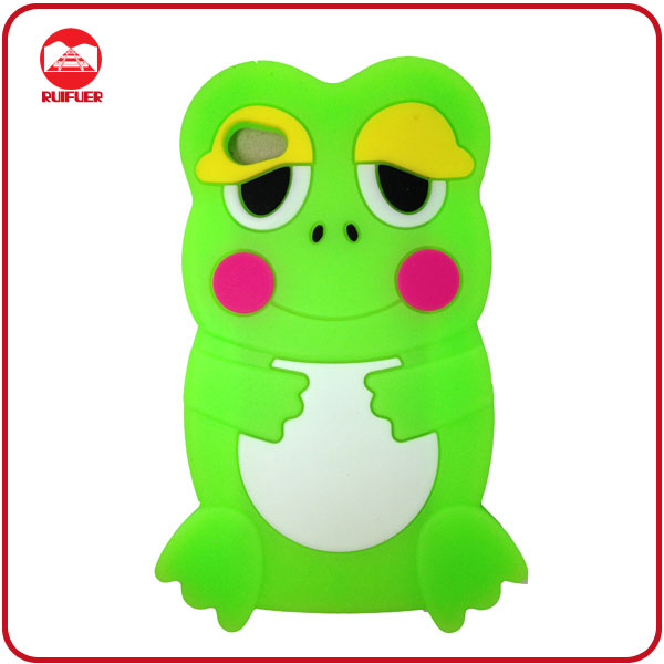 Stylish Soft Frog Shaped 3D Animal Case for Samsung Galaxy S2 I9100