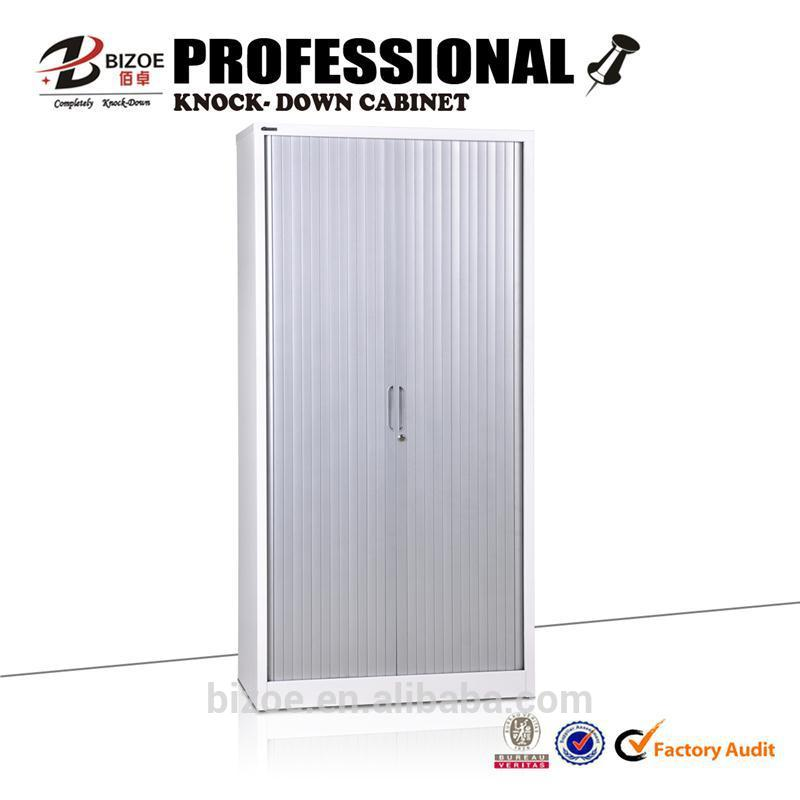 high quality metal cheap kd steel shutter/roller door cabinet