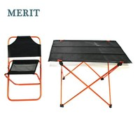 Modern Aluminium Folding Camping Table And Chairs Set