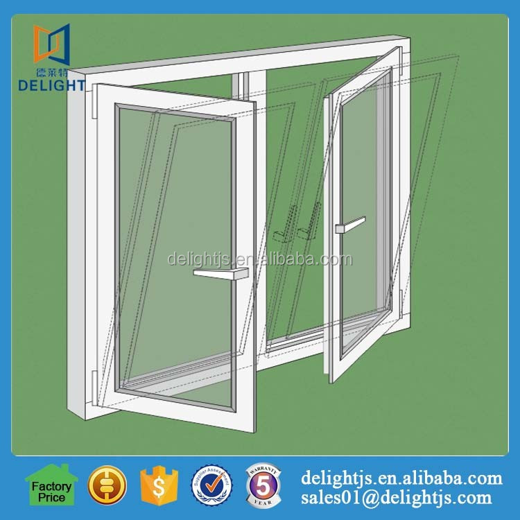 New design tilt and turn mechanism windows with OEM service
