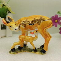 Mum Baby Deer Promotional Gifts Metal