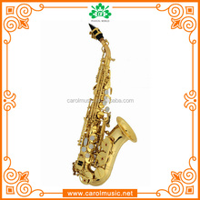Professional custom curve bell soprano saxophone