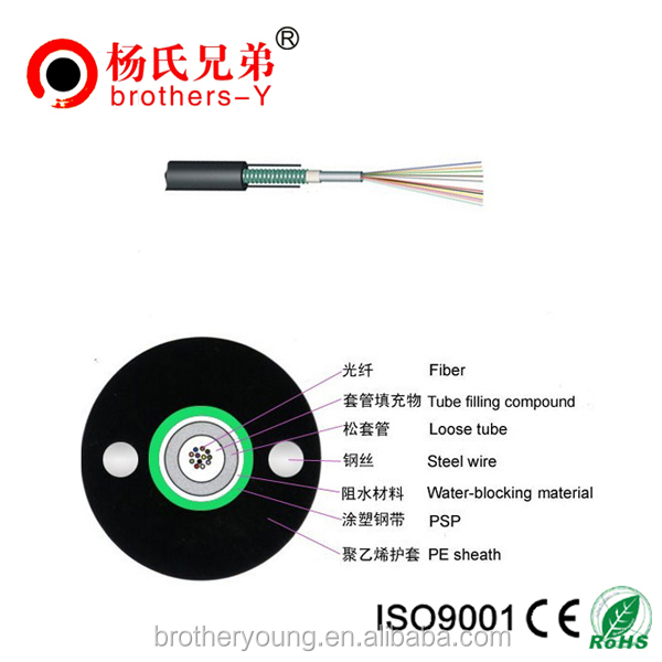 YOFC optical G652D fiber cable duct cable corning fiber optic cable