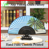 Customize Bamboo Folding Fan With Personal
