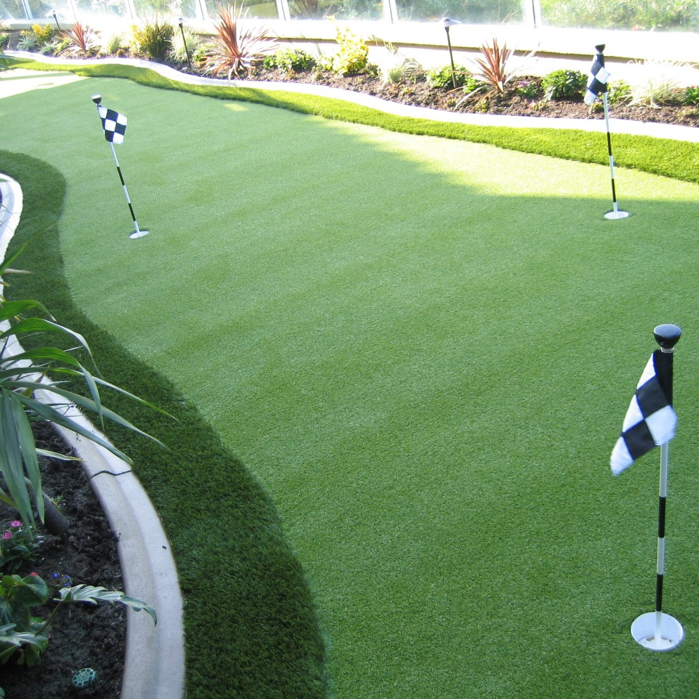 12mm Outdoor Mini Synthetic Artificial Golf Grass