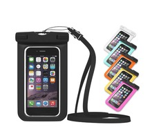 Universal waterproof case dry bag for smartphone