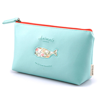 2015 Animal Travel Leather acrylic cosmetic case