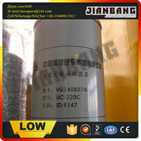 Howo Spare Parts Fuel Filter VG14080740A