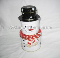 Gift tin packing box