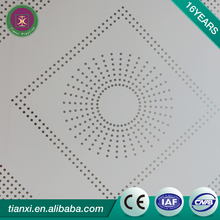 Chinese manufacturer high quality 595*595mm cheap plastic pvc ceiling tile