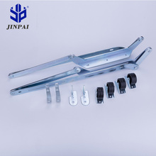 Jinpai adjustable sofa bed mechanism metal sofa bed parts with wheels concealed hinge folding sofa bed mechanism