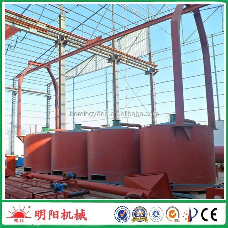 Factory direct sell gas flow type wood energy-saving charring furnace to make charcoal