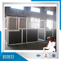 Factory Made Galvanized Steel horse stable horse stalls in Shandong