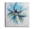 Modern Hand Canvas Simple Flower Oil Painting