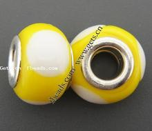 lampwork antique 18k yellow gold ring