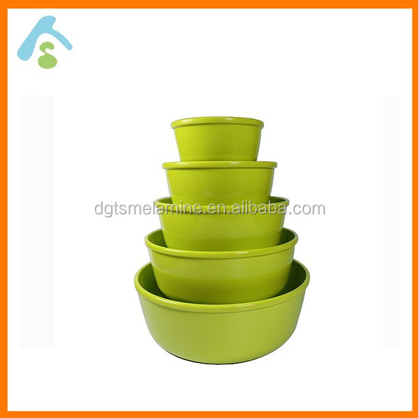 100% Melamine Round salad bowls set Popular for home