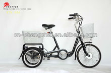 three wheel electric vehicle 36V 250W