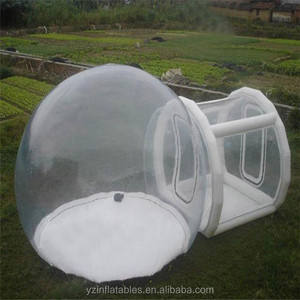 Giant inflatable dome bubble tent/ transparent bubble tent for sale