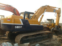 used Kobelco crawler excavator SK07, originally from Japan in excellent performance