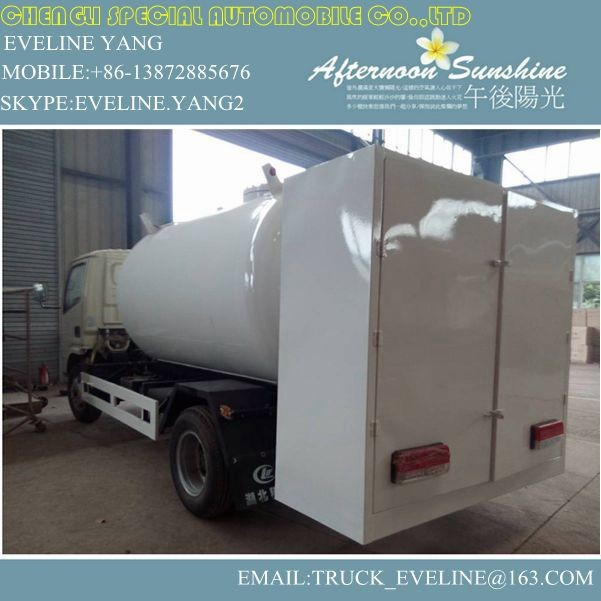 dongfeng mini LPG TRUCK WITH DISPENSER /USED LPG GAS TANK