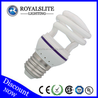 Hot selling products T2 half spiral cfl grow light