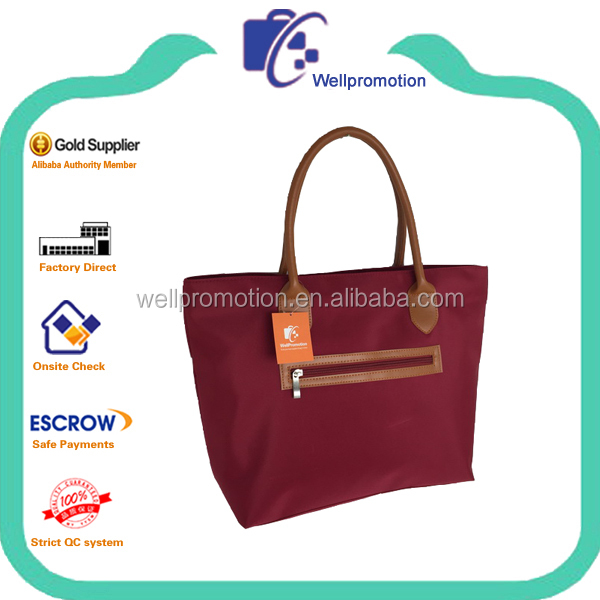 Wellpromotion fashion used branded ladies handbags