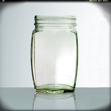 Different size soda-lime glass candy mason jar for canning