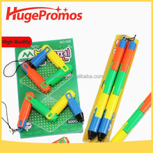 Promotional Folding Plastic Ballpoint Pen&Magic Pen