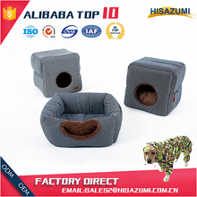 Hangzhou Hisazumi quality soft warm indoor portable pet bed
