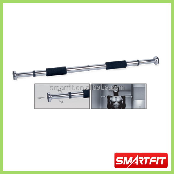 Chin up bar door frame two way rotating door gym bar wall for Door frame pull up bar