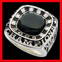 AAA cubic stone sports championship jewellery team custom ring