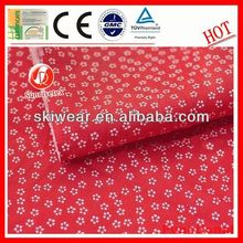 Hot!Fireproof 100% cotton poplin printed fabric for Garment