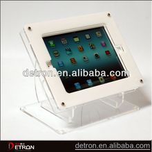 High quality Clear acrylic display stand for ipad
