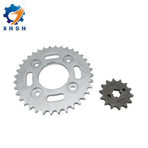 A3 Steel front and rear motorcycle sprocket sets