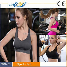 Hot Slae Custom yoga apparel, Dry Fit wholesale sports bra/ womens gym wear