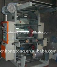 Two colors Flexible Letter Press,Plastic film Flexography printing machine