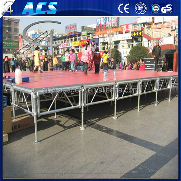 outdoor heavy duty aluminum stage stand lighting truss system for large scale performances, used for concert wedding ,party