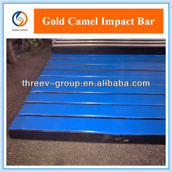 Impact Bar used in the loading area of the belt conveyor