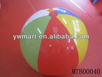 Inflatable led beach ball girls