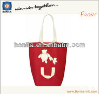 Promotional tote bag, new design shopping tote bag, hand bag