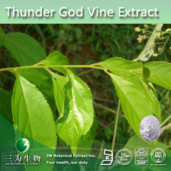 Top Quality Thunder god vine Extract Tripterine(Celastrol) 98%,CAS NO.: 34157-83-0