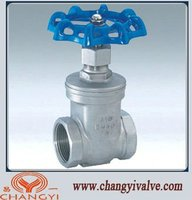 Stainless Steel Gate Valve/Stainless Steel screw gate valve/thread gate vavle