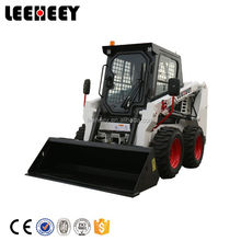 China Brand new product bobcat skid steer mini wheel loader with many attachments for sale