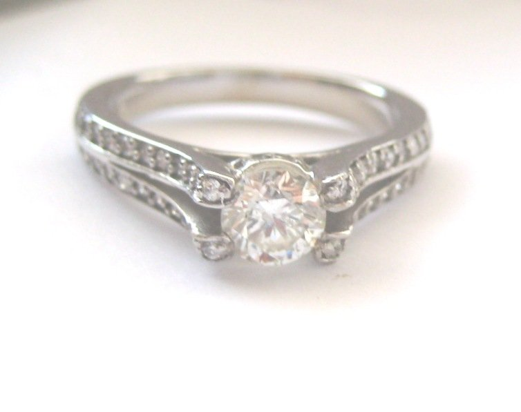 1. 11ct White Diamond Engagment Ring H / SI2 Wholesale Lots.