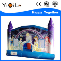 Attractive princess inflatable amusement game