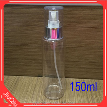 5oz 150ml PET Plastic toiletry bottle with sprayer