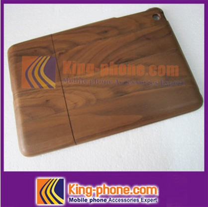 100% natural wood phone case for iPad mini