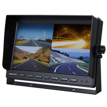 "10.1"" tft lcd car sun visor tv lcd bus monitor 24v with rca input"